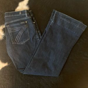 Limited Edition 7 For All Mankind Dojo Flares